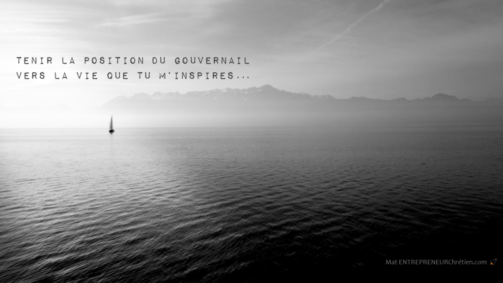 position-du-gouvernail